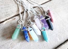 turquoise crystal necklace images Pointed crystal necklace emily thai jewelry online store jpg