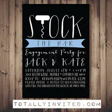 stock the bar invitations stock the bar invitation engagement party printable couples