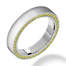 mens wedding bands with diamonds yellow diamond engagement rings jewelry point