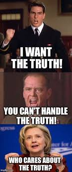You Can T Handle The Truth Meme - thanks god this criminal lost again the truth pinterest
