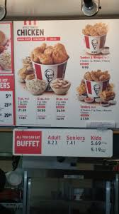 Kfc All You Can Eat Buffet by Kfc Buffet Usa