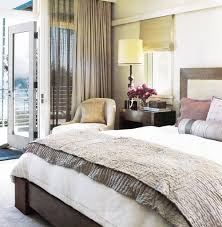 Taupe And Pink Bedroom Gray Silk Blanket Contemporary Bedroom Madeline Stuart