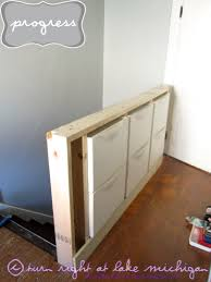 Ikea Stall Shoe Cabinet Hack Our New Pony Wall With Built In Storage Using Ikea Trones Mines