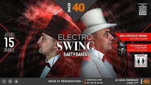 electro swing italia swing ft bart baker docks 40 lyon 15 mars