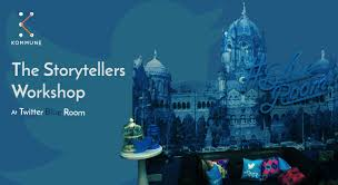 book tickets to the storytellers workshop at twitter blue room