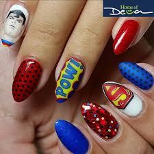 best 25 superman nails ideas on pinterest superhero nails