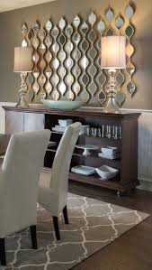 wall decor dining room adding multiple little mirrors instead of one large mirror adds