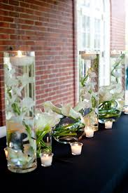 Vase And Candle Centerpieces by Best 25 Calla Lily Centerpieces Ideas Only On Pinterest Calla
