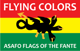 University Flags Flying Colors Asafo Flags Of The Fante Art Museum Of The