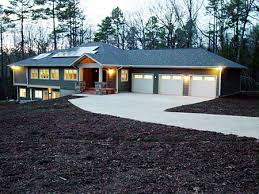 ranch style house plans with walkout basement plan 16713rh energy efficient ranch on basement car garage house