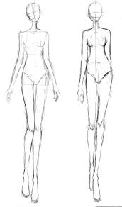 pictures fashion designer sketches templates drawing art gallery