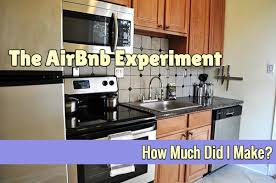 the airbnb experiment how much did i make afford anything