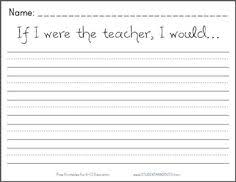 first grade writing prompts 8 pages of free writing prompts that