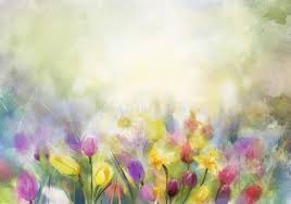 watercolor flowers painting stock photo image 51438631