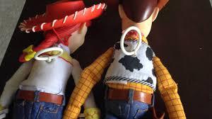 toy story woody u0026 jessie jesse pull string talking dolls thinkway
