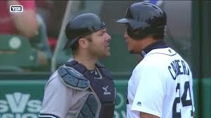 Red Sox Yankees Benches Clear Four Ejected In Yankees And Tigers Bench Clearing Brawl