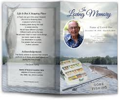 Elegant Funeral Programs Funeral Programs And Memorials In Loving Memory