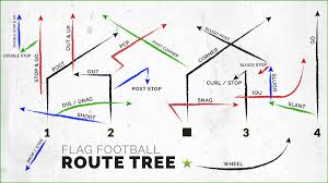 How To Start A Youth Flag Football League Guide To The Ultimate Flag Football Routes Tree Ffwct
