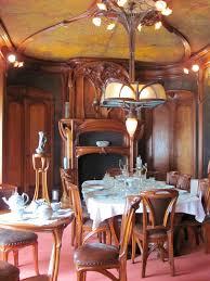 salle a manger dining room by eugène vallin u0026 victor prouvé