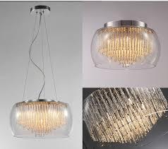 Pendelleuchten Esszimmer Ebay Pendelleuchte Geriffeltes Glas Silber Gold Pendellampe Hängelampe