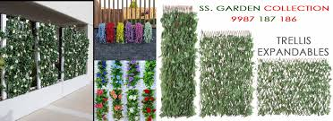 artificial ivy trellis expandable plant for wall manufacturer in
