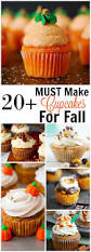 20 must make cupcakes for fall house of yumm