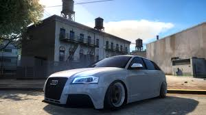 audi rs3 mods gta gaming archive
