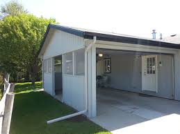 Garage With Screened Porch Garages U0026 Carports D U0026l Enterprise General Contractor Missoula