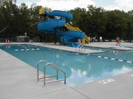awesome outdoor swimming pools decorating ideas u2013 blue pool ladder