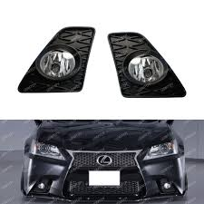 lexus gs 350 vietnam fog light set w jdm foglamp garnish wiring switch for13 15