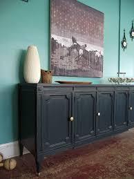 vintage ground vintage deep blue credenza sideboard buffet