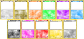 pokemon blank card templates basic by levelinfinitum on deviantart