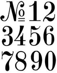 free number fonts pintrest yahoo image search results
