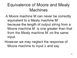 Resume For Government Job by Moore And Mealy Machines