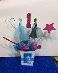 frozen party centerpiece theme ideas centerpieces and frozen party