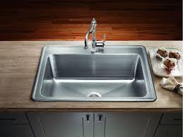 Overmount Kitchen Sinks Project Ideas Drop In Stainless Steel Kitchen Sinks Cars Inovation