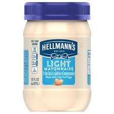 hellmans light mayo nutrition hellmann s light mayonnaise 15oz target