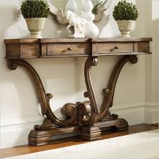 sanctuary 4 drawer console table hooker furniture sanctuary thin console in amber sands hooker
