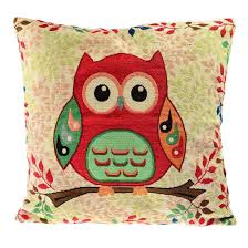 Sofa Pillows Covers by Set Of 4 Sofa Pillow Covers U2013 Totally Owls