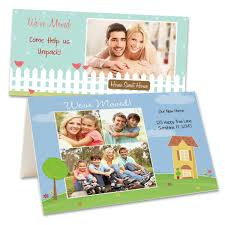custom photo moving announcements we ve moved cards winkflash