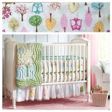 Pottery Barn Kids Baby Bedding Pottery Barn Kids Brooke Crib Girls Nursery Bedding Set Wellbx