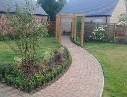 stonetree landscapes portfolio walled garden design in rutland