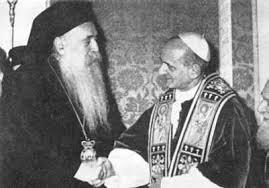 Paolo VI e Atenagora