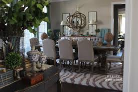 blue egg brown nest home colors dining room