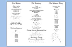 trifold wedding program template 30 images of template for wedding program trifold helmettown