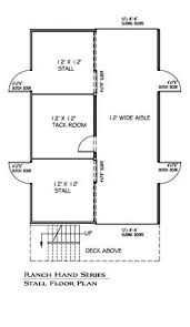 Horse Barns With Apartments Plans 2 Horse Barn With Feed Room Cheap Plans 22x30 2 Stall Small