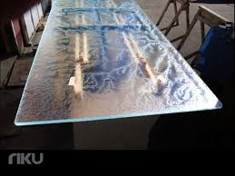 54 glass table top lady laura onami crystal glass table top