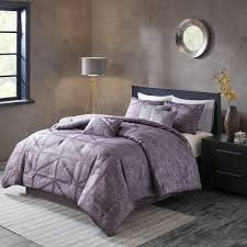 Washer Capacity For Queen Size Comforter Madison Park Nico Purple Comforter 7 Piece Set Free Shipping