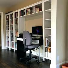 Built In Desk Diy Diy Bookshelf Desk Bookshelf Desks Wall Units Built In Desks And