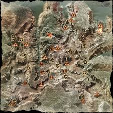 Dragon Age World Map by